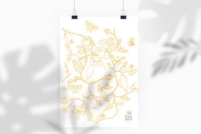 Gaia Baby Décor -<br> Downloadable Wall Art