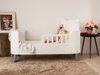 Serena Toddler Rail - All White
