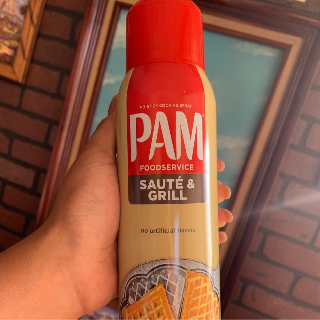 Pam non-stick spray