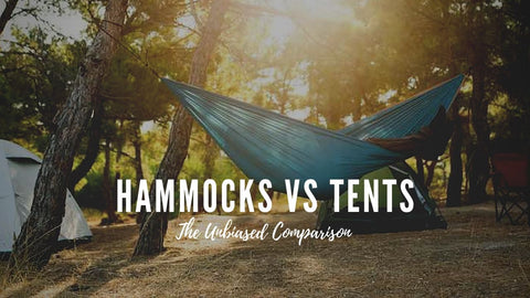Hammocks versus tents. A comparison by Everest Active Gear