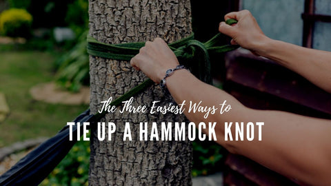 How to tie up a hammock knot