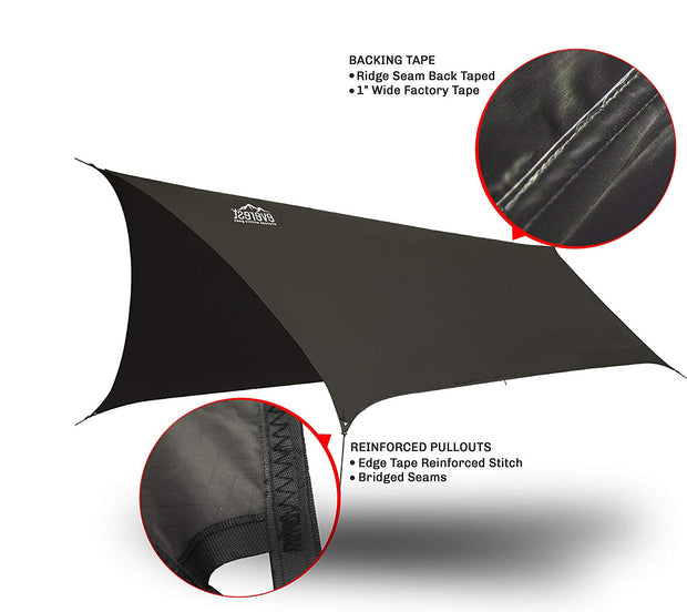 tent hammock with rain fly