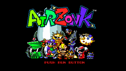 Air Zonk for the PC Engine / TurboGrafx 16 gaming system