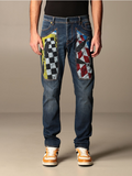 JECKERSON JEANS TAPARED PRINTED