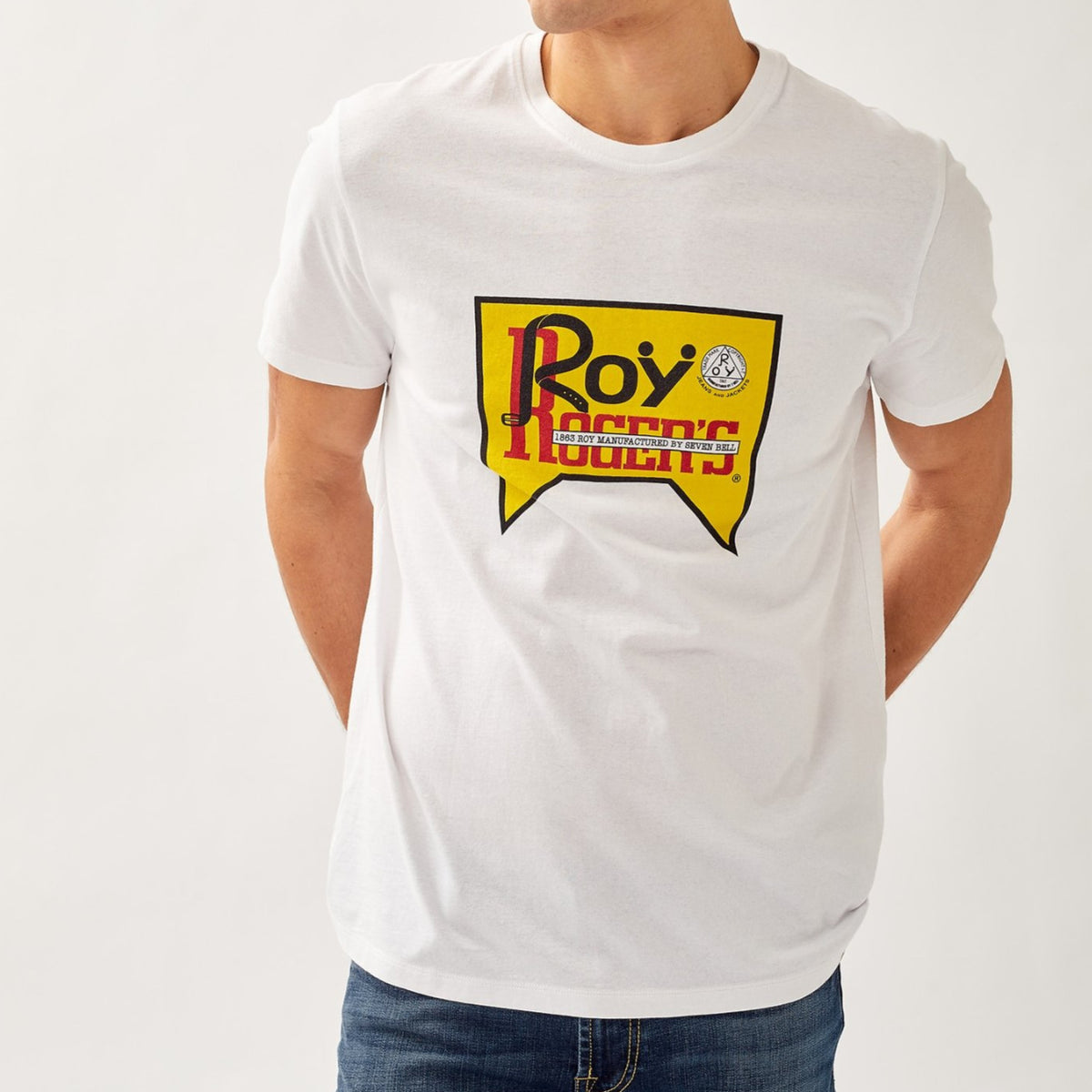 ROY ROGER'S TSHIRT JERSEY ROY VINTAGE UOMO DONNA