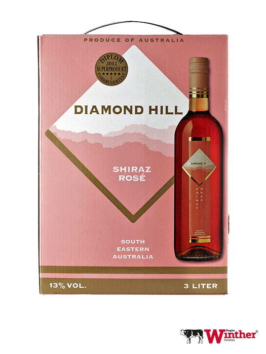 Diamond Hill Shiraz Rosé - 300 CL - 13% (4449644904528)