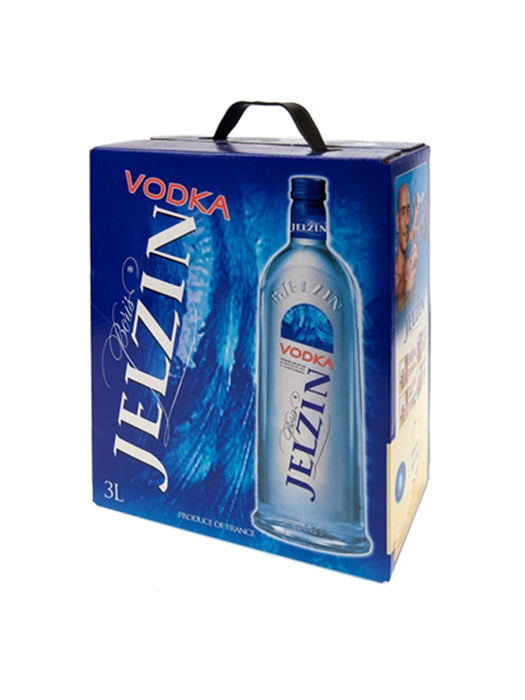 Jelzin Vodka 37,5% 3L.