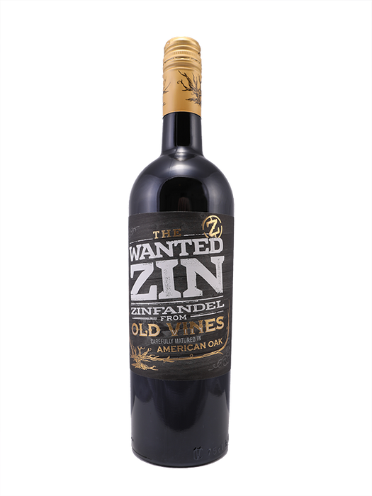 The Wanted zin zinfandel from old vines
