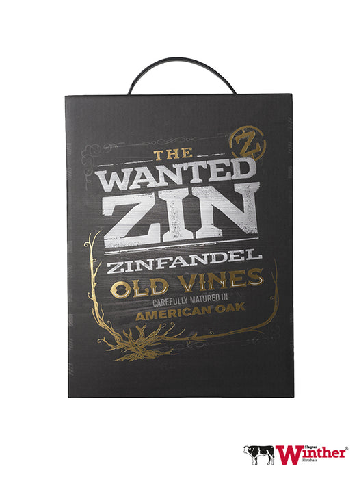 The Wanted Zin Zinfandel, 300 CL - 14,5% (4449680916560)
