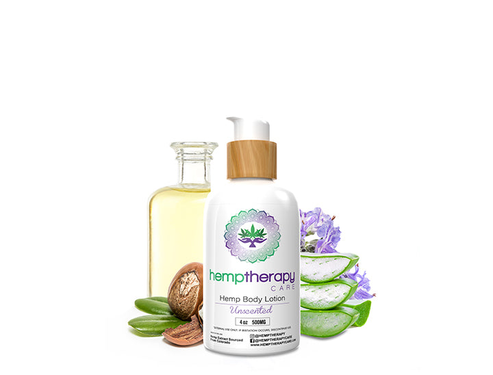 Hemp Body Lotion Lavender Vanilla