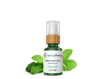 Refreshing Hemp Peppermint Spray