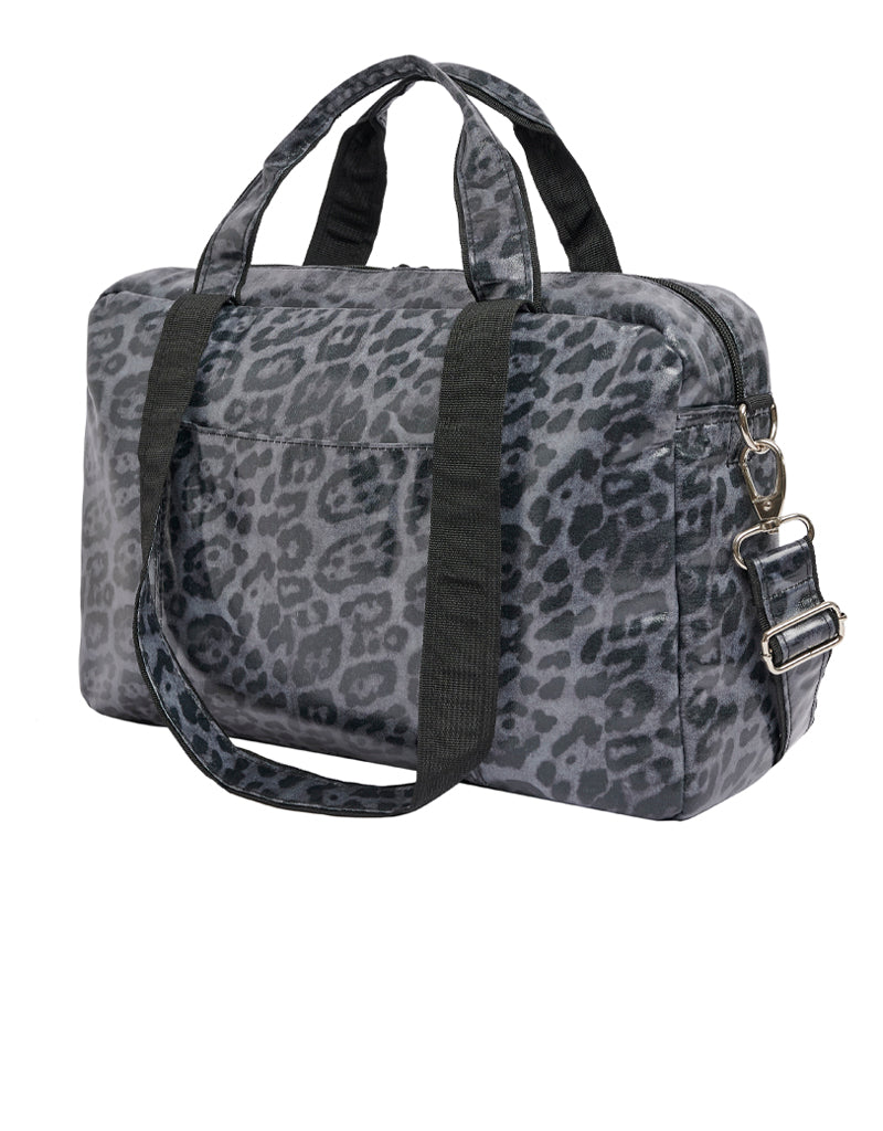 Bolso Maternidad Leopardo Gris All-time Favourites