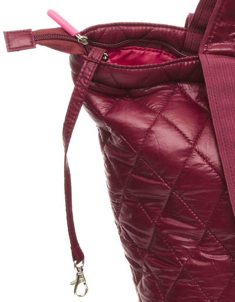 Bolso Shopper Pequeño Acolchado Burdeos All-time Favourites
