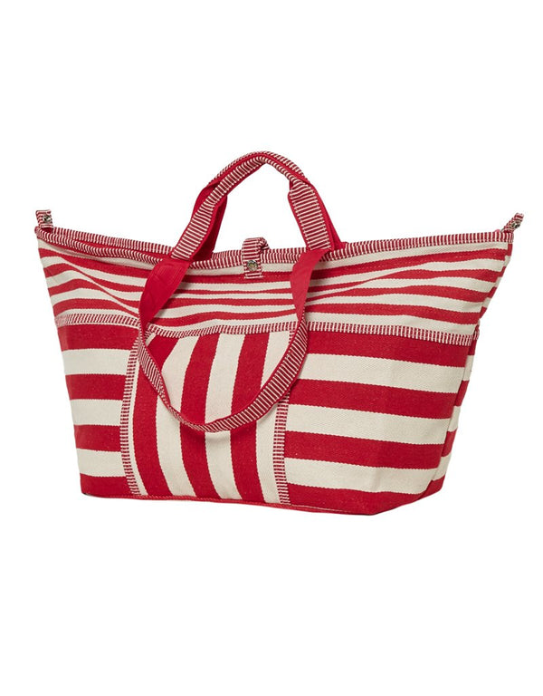 Bolso Shopper Mediano Rayas Rojas All-time Favourites
