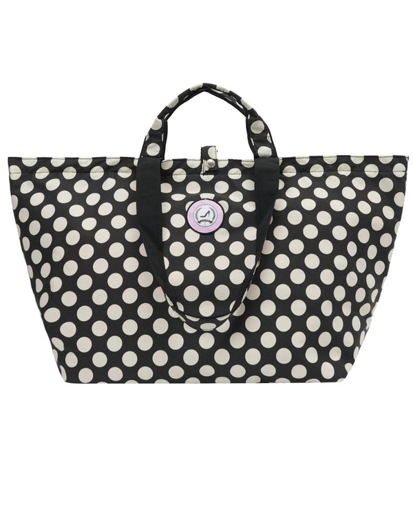 Bolso shopper mediano lunares