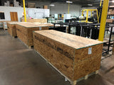 Planet Aquarium in Crate for shipping via freight