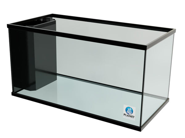"120 Gallon Trimmed Glass Peninsula Aquarium with Internal Overflow 48.5""(L) X 24.5""(D) X 25""(H)"