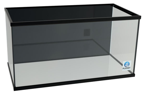 120 Gallon Glass Aquarium - trimmed Show Tank without Overflow