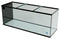 "215 Gallon Trimmed Glass Peninsula Aquarium with External Overflow 72.5""(L) X 24.5""(D) X 29.5""(H)"