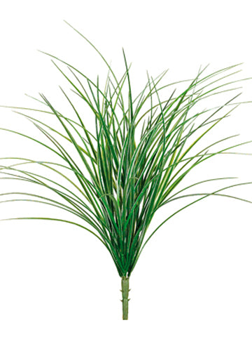 "21"" Grass Bush Green/White Aquarium Plant"