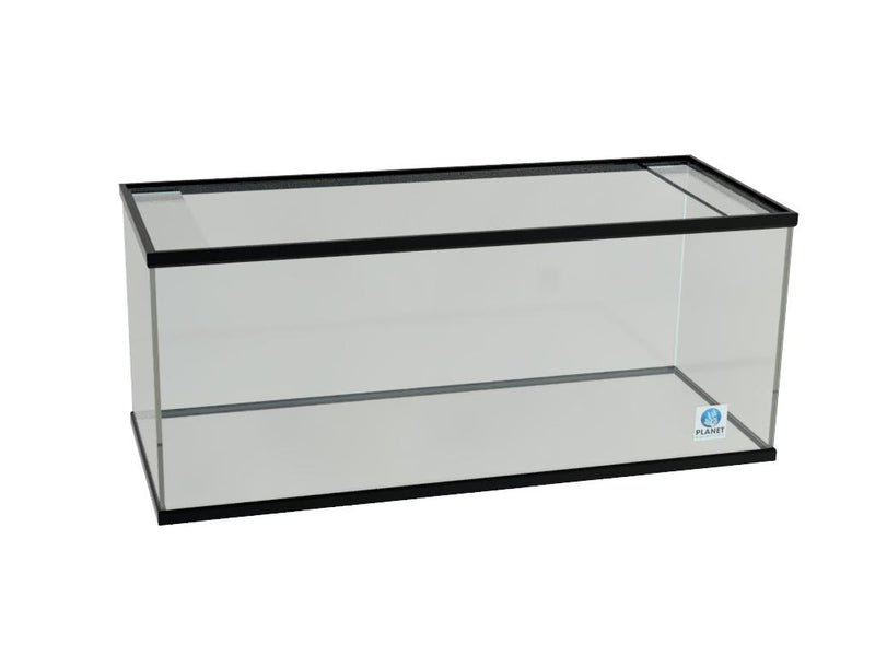 90 Gallon Glass Aquarium trimmed Show Tank without Overflow