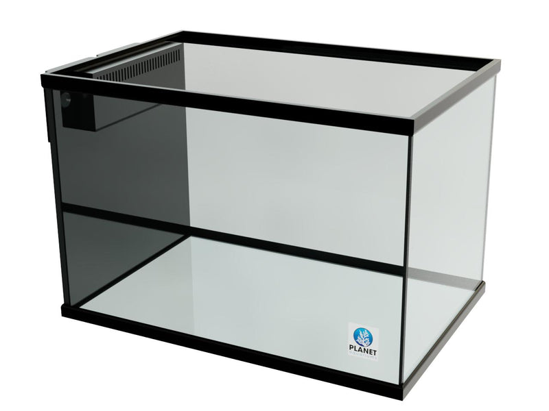 "90 Gallon Trimmed Glass Peninsula Aquarium with External Overflow 36.5""(L) X 24.5""(D) X 25""(H)"