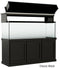 "Classic Aquarium Canopy with 12"" Front Lift Option Stained Classic Black"