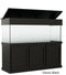"Classic Aquarium Canopy with 8"" with a top lift Stained Classic Black"
