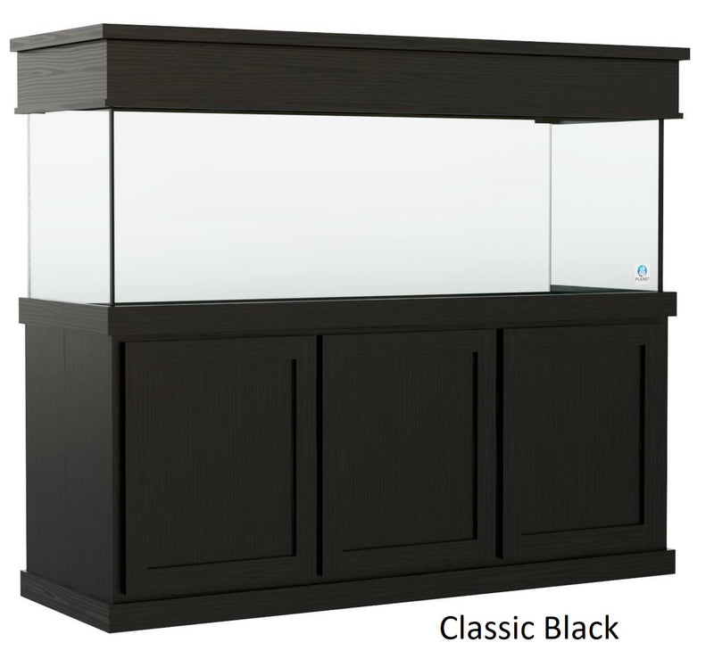 Classic style Aquarium Stand fits 180 gallon or 215 gallon tanks Stained Black