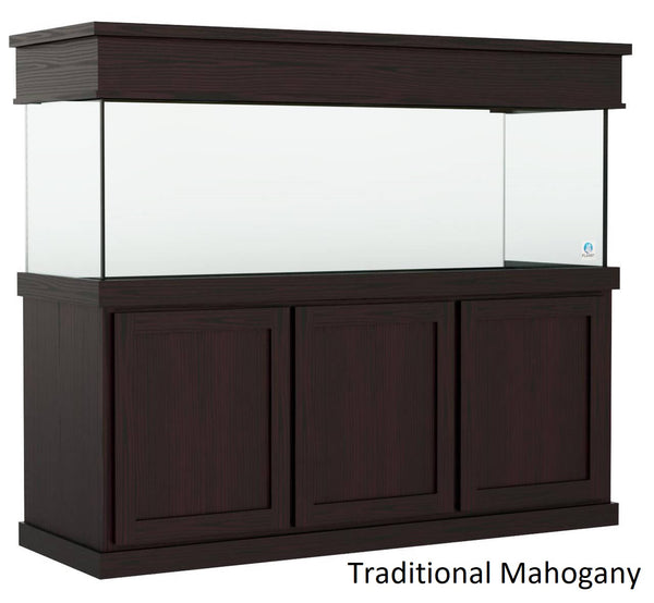 Classic style Aquarium Stand fits 180 gallon or 215 gallon tanks Stained Traditional Mahogany