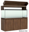"Elegance Aquarium Canopy with 12"" with a Front Lift fits 180 gallon and 215 gallon tanks Stained Medium Oak"