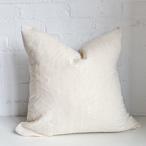 Cream on Cream Stripped Throw Pillow Case - Exclusive by AMD