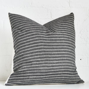Dark Stripped Throw Pillow Case - Exclusive by AMD