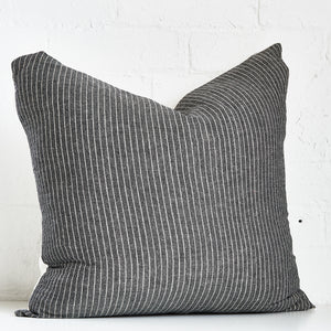 Dark Stripped 2 Throw Pillow Case - Exclusive by AMD