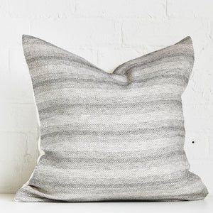 Grey Stripped Throw Pillow Case - Exclusive by AMD