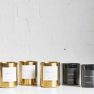 Yuzu + Birch Candle by Brand & Iron