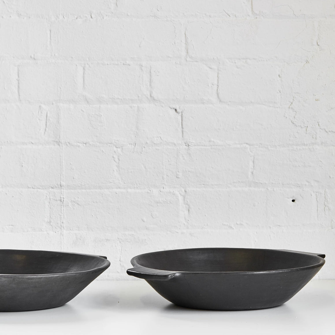 Serpentinite Serving Bowl with Handles