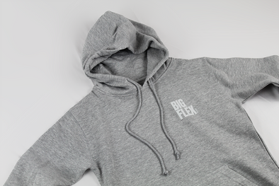 STACKED Hoodie Heather Grey