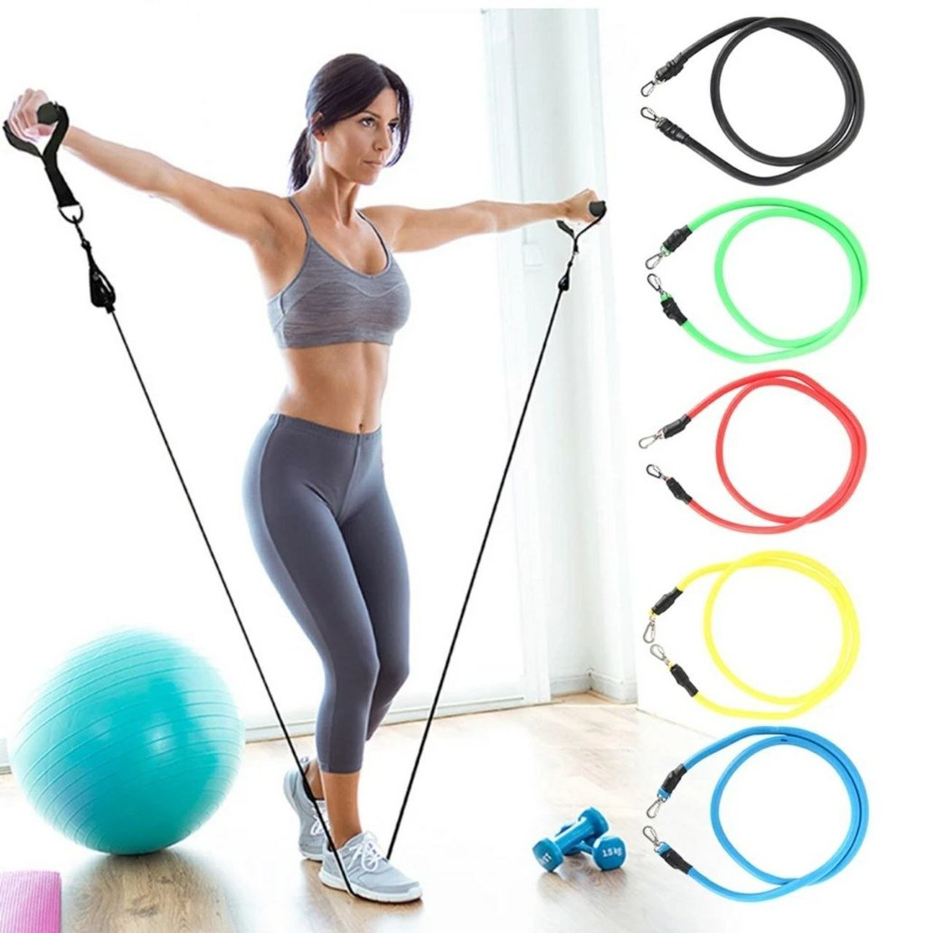 Big Flex Bands: 11 piece Resistance Band set