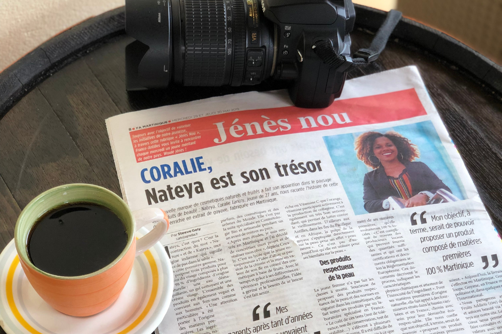 Nateya Article France-Antilles