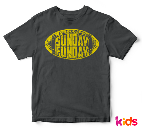 Sunday Funday Kid's T-Shirt