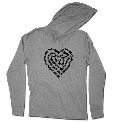 I Heart My Bicycle - Hoodie