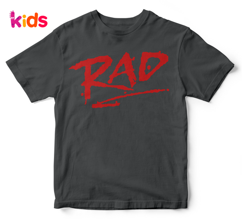 RAD  kid's tshirt