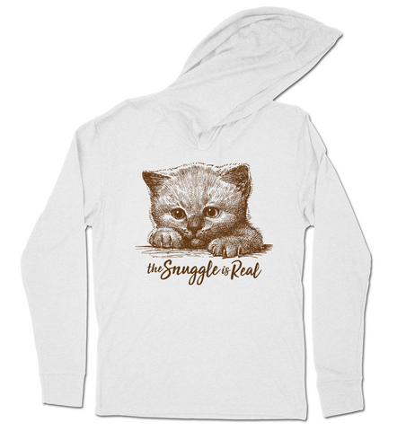 SNUGGLE IS REAL - Hoodie