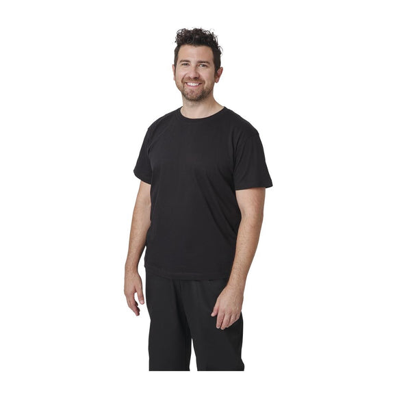 Click N Order photo of a Unisex Chef T-Shirt Black XL