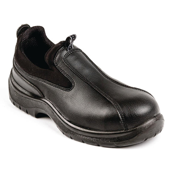 Click N Order photo of a Lites Unisex Cushioned Slip On Black 39