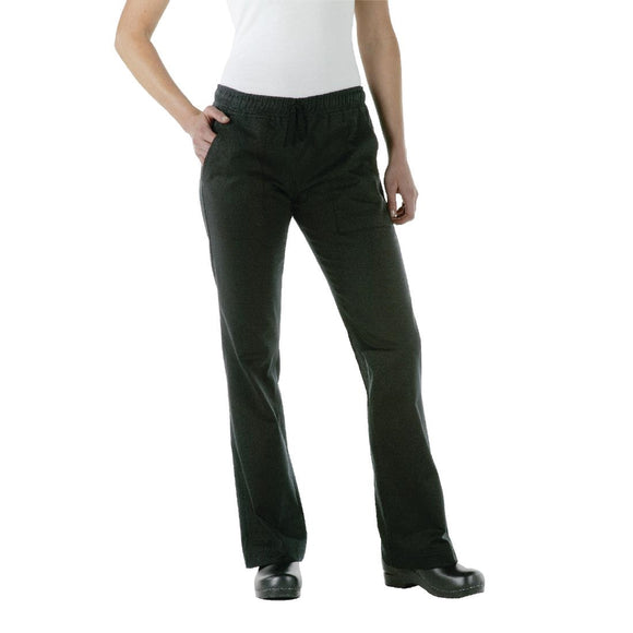Click N Order photo of a Chef Works Womens Executive Chef Trousers Black  XXL