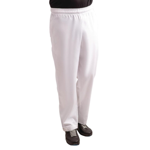 Click N Order photo of a Whites Easyfit Trousers Teflon White XXL