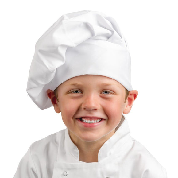 Click N Order photo of a Whites Childrens Unisex Chef Hat White