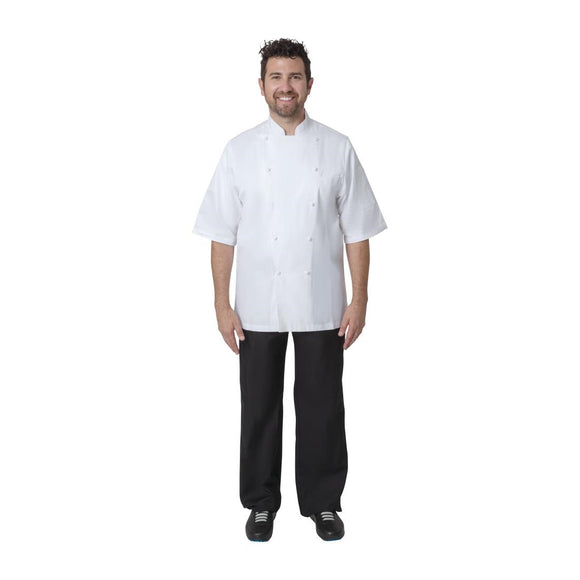 Click N Order photo of a Chef Works Capri Executive Chefs Jacket White 34